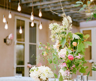 Romantic Outdoor Napa Wedding Flowers