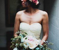 SmoggeeShoppe Wedding Bride with Flower Crown