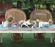 Modern Bohemian Southwestern Wedding Tablescape