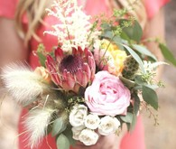 Modern Bohemian Southwestern Wedding Bouquet