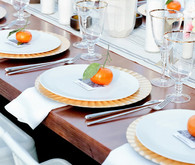 Palm Springs Wedding Place Setting