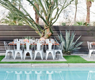 Palm Springs Wedding Reception at Casa Verona