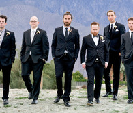 Palm Springs Wedding Groomsmen