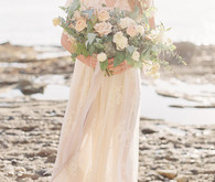 Romantic Coastal Bridal Inspiration