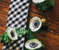 Kate Spade Inspired Wedding Boutonnieres
