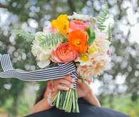 Kate Spade Inspired Wedding Bouquet
