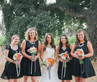 Kate Spade Inspired Bridesmaids