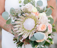 Intimate Desert Chic Palm Springs Wedding Florals