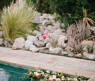 Intimate Desert Chic Palm Springs Wedding Flowers