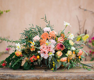 Romantic Mediterranean Wedding Florals