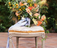 Romantic Mediterranean Wedding Bouquet