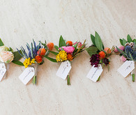 Colorful Boutonnieres