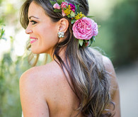 Parker Palm Springs Wedding Hairstyle