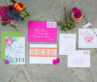 Parker Palm Springs Wedding Invitation
