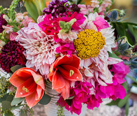 Parker Palm Springs Colorful Wedding Florals
