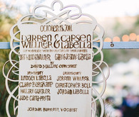 DIY Los Angeles Wedding Program