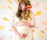 bright, Austin maternity photos