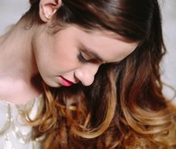 Long waves bridal hair