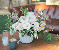 Blush rose floral arrangement
