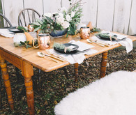Kinfolk inspired tablescape