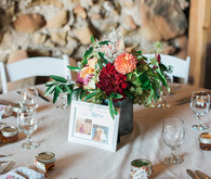Rustic barn tablescape