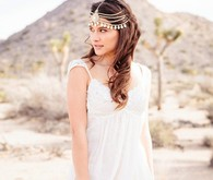 Desert bride head dress
