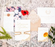 Desert inspired wedding invitation