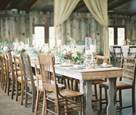 Barn chic tablescape