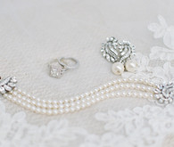 Diamond bridal accessories