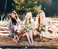 Bohemian bridesmaid inspiration