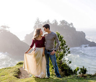 Coastal engagement photo