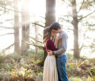 Oregon forest engagement photo