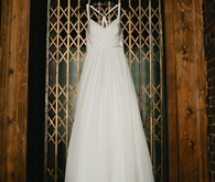 Indoor wedding dress wi