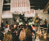 Moniker Warehouse wedding ceremony