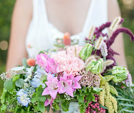 Nautical colorful bouquet