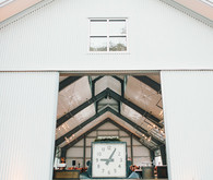 Modern wedding ceremony venue