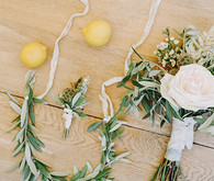Olive branch bouquet