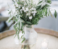 Lemon orchard wedding decor