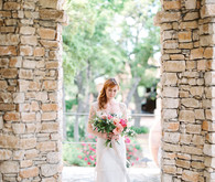 Pretty floral wedding inspiration
