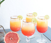 Sunrise cocktails