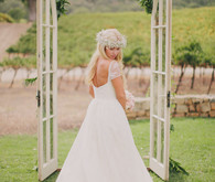 Amy Kuschel wedding dress