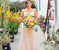 Citrus inspired wedding inspiration