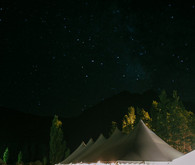 Mammoth tented reception
