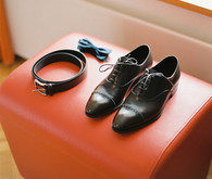 Groom shoes and accessories