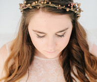 Delicate flower crown