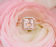 Rosegold wedding ring