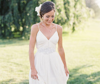 Outdoor bride photograph