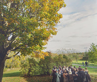 Upstate New York wedding ceremony