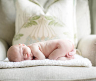 Light airy newborn photos