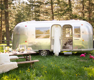 Outdoor Airstream wedding